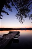 Dock, White Lake State Park, New Hampshire