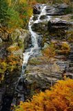 Autumn at Silver Cascade, Crawford Notch SP, New Hampshire
