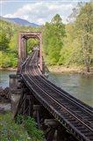 Abandoned Railroad Trestle, North Carolina