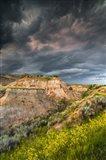 Thunderstorm Approach On The Dakota Prairie