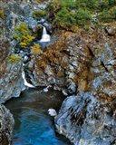 Stair Creek Falls Along The Rogue River, Oregon