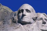 Presidents Washington and Jefferson, Mount Rushmore, South Dakota