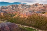 Erosion Hills In Badlands National Park, South Carolina