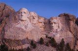 Mount Rushmore National Memorial at dawn, Keystone, South Dakota