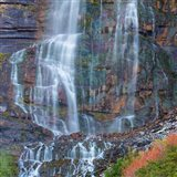 Rainbow View Of Bridal Veil Falls, Utah
