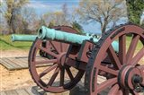 Cannon On Battlefield, Yorktown, Virginia