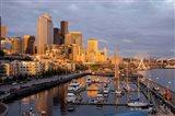 Seattle Skyline From Pier 66, Washington