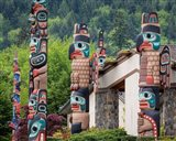 Jamestown Totem Art, Washington State