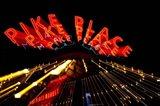 Pike Place Market At Night, Washington State
