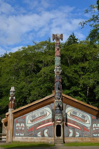 Alaska, Ketchikan, Totem Bight State Historical Park Poster by Savanah Stewart / Danita Delimont for $51.25 CAD