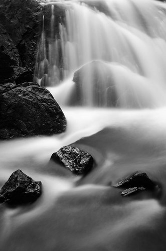 Cascade In Lundy Canyon Poster by Russ Bishop / DanitaDelimont for $42.50 CAD
