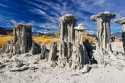 Tufa Formations At Mono Lake Poster by Russ Bishop / DanitaDelimont for $68.75 CAD