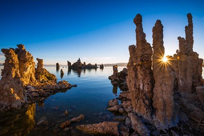 Sunrise At The South Shore Of Mono Lake Poster by Russ Bishop / DanitaDelimont for $53.75 CAD