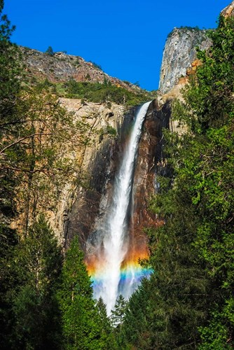 Rainbow Over Bridalveil Fall Poster by Russ Bishop / DanitaDelimont for $51.25 CAD