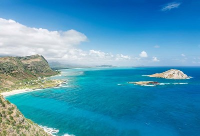 North Shore From Makapu'u Point, Oahu, Hawaii Poster by Rob Tilley / Danita Delimont for $60.00 CAD