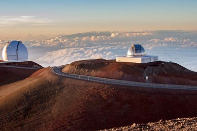 Mauna Kea Observatory Hawaii Poster by Tom Norring / Danita Delimont for $42.50 CAD