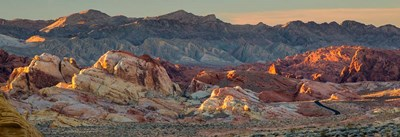 Panorama Of Valley Of Fire State Park, Nevada Poster by Judith Zimmerman / DanitaDelimont for $52.50 CAD