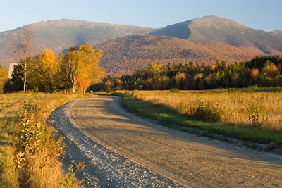 Valley Road in Jefferson, Presidential Range, White Mountains, New Hampshire Poster by Jerry & Marcy Monkman / Danita Delimont for $63.75 CAD