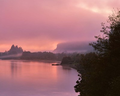 Fog Along The Columbia River, Oregon Poster by Jaynes Gallery / Danita Delimont for $73.75 CAD