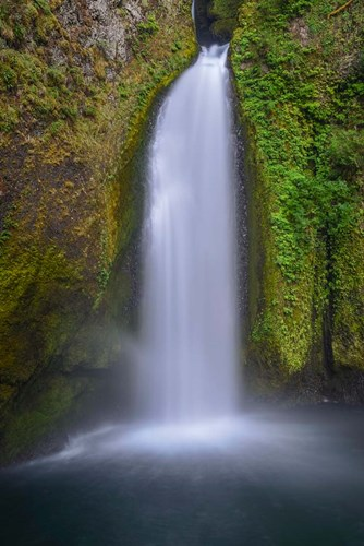 Wahclella Falls, Columbia River Gorge, Oregon Poster by Howie Garber / Danita Delimont for $60.00 CAD