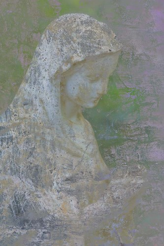 Pastel Abstract Statue Of The Madonna Poster by Jaynes Gallery / Danita Delimont for $42.50 CAD
