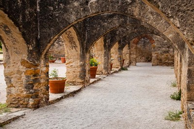 Archways At Mission San Jose Poster by Larry Ditto / Danita Delimont for $42.50 CAD