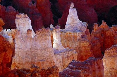 Hoodoos At Sunrise Point, Bryce Canyon National Park, Utah Poster by Michel Hersen / Danita Delimont for $50.00 CAD