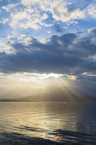 God Rays Over Hood Canal, Washington State Poster by Jaynes Gallery / Danita Delimont for $42.50 CAD