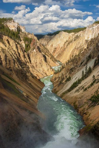 Yellowstone River, Wyoming Poster by Judith Zimmerman / DanitaDelimont for $50.00 CAD