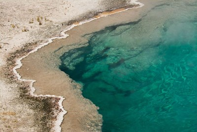 Black Pool, West Thumb Geyser Basin, Wyoming Poster by Michel Hersen / Danita Delimont for $47.50 CAD