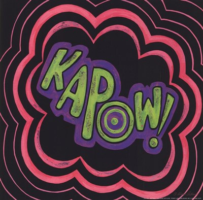 Kapow Poster by Diane Arthurs for $11.25 CAD