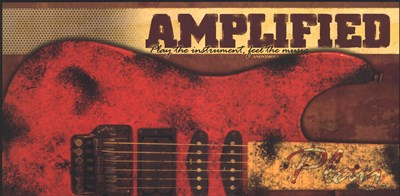 Amplified Poster by John Jones for $16.25 CAD