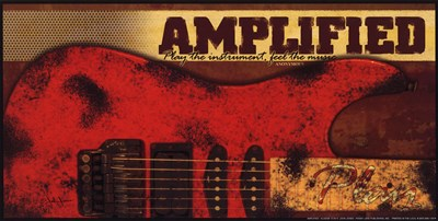 Amplified Poster by John Jones for $7.50 CAD
