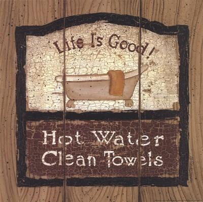 Hot Water Poster by Linda Spivey for $16.25 CAD