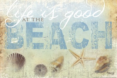 Beach Life Poster by Marla Rae for $21.25 CAD