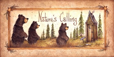 Nature's Calling Poster by Mary Ann June for $13.75 CAD