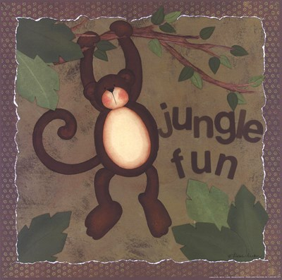 Jungle Fun Poster by Michele Deaton for $16.25 CAD