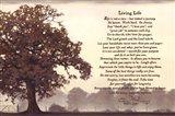 Living Life Sepia Tree