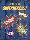 Superheroes Bath I