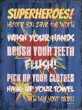 Superheroes Bath II