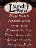Laundry Rules - Red