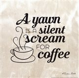 Silent Scream For Coffee