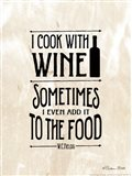 I Cook with Wine