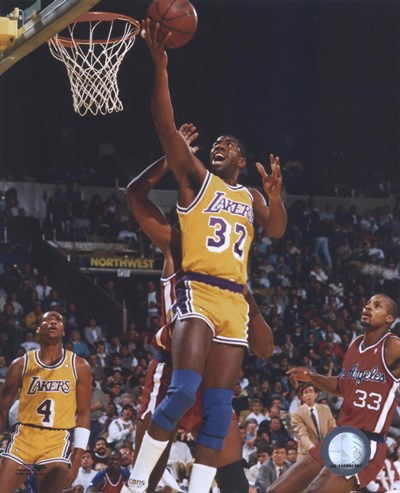 Magic Johnson Poster by Unknown for $21.25 CAD