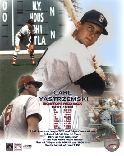 Carl Yastremski - Legends of the Game Composite Poster by Unknown for $21.25 CAD