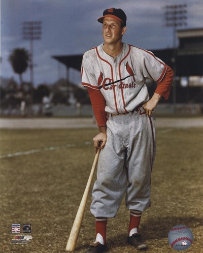Stan Musial Poster by Unknown for $21.25 CAD