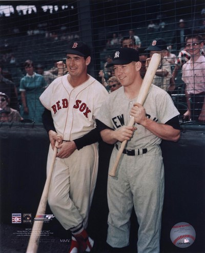 Ted Williams / Mickey Mantle Poster by Unknown for $21.25 CAD