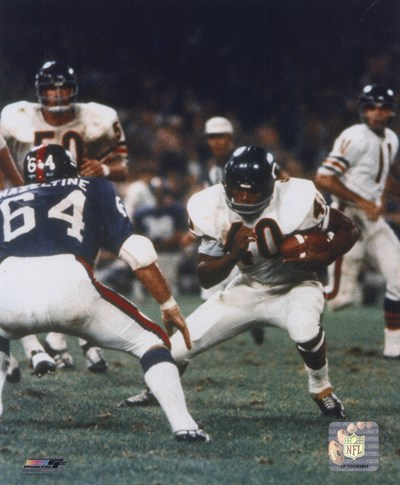 Gale Sayers - Action with ball Poster by Unknown for $21.25 CAD