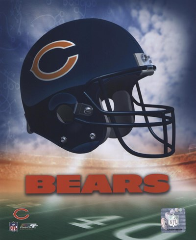 Chicago Bears Helmet Logo Poster by Unknown for $21.25 CAD