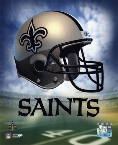 New Orleans Saints Helmet Logo Poster by Unknown for $21.25 CAD